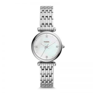 Fossil Neely Three-Hand Stainless Steel