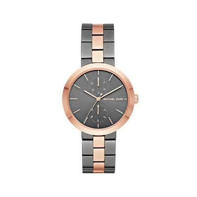 Michael Kors Women Garner Grey Rose Gold Watch MK6431