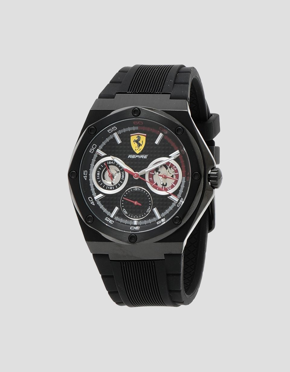 Ferrari Aspire Multifunctional Watch With Black Dial