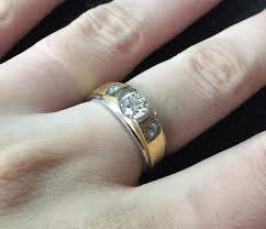แหวนเพชร  ผู้ชาย